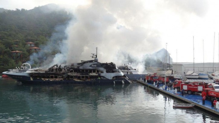 Owners of destroyed superyacht Barbie paid $20,000,000