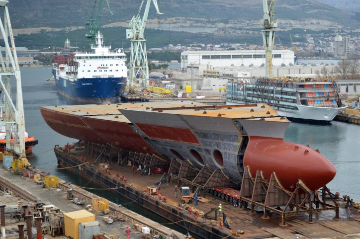 Brodosplit signed new contracts with Italian Fincantieri