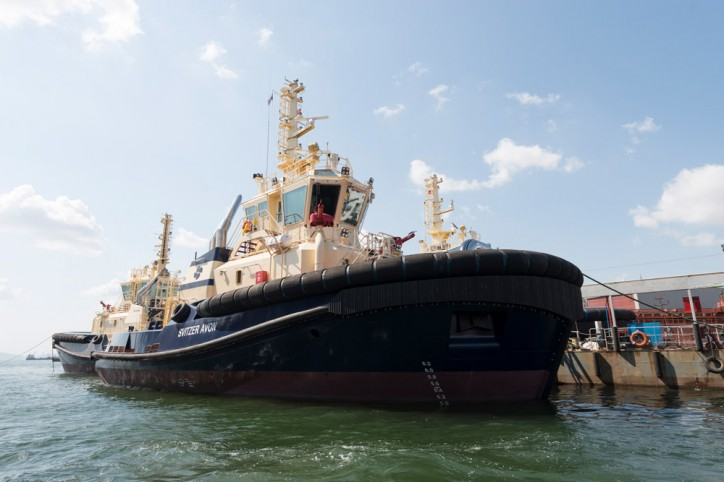 Sanmar Shipyard six vessel order completed with the delivery of Svitzer Avon to the Bristol Port