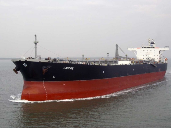 Pakistan-flagged crude oil tanker detained at Dubai