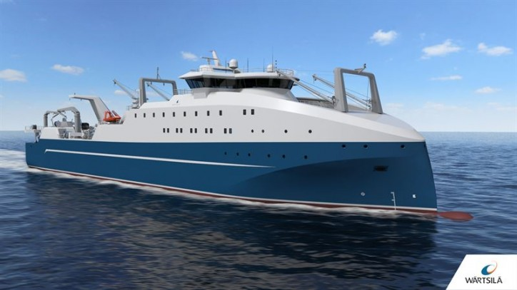 Wärtsilä Ship Design enables unique capabilities for new factory fishing trawler