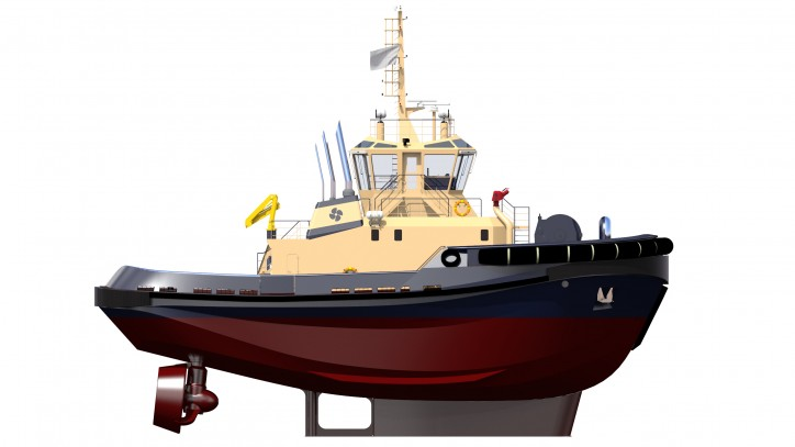 Rolls-Royce MTU engines power new Harbour tugs with 90 tonnes of bullard pull