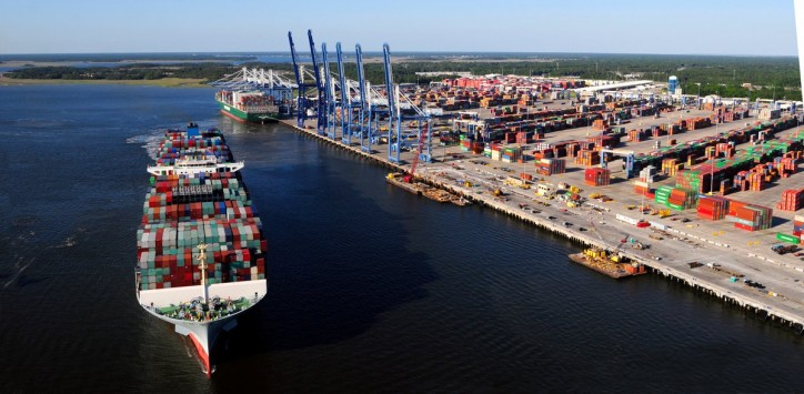 South Carolina Ports 2017 Container Volume Up 13%; Strongest July on record
