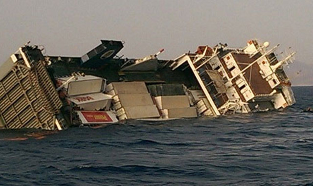 Ro-Ro cargo ship sinks near Safaga in Red Sea, 37 people rescued