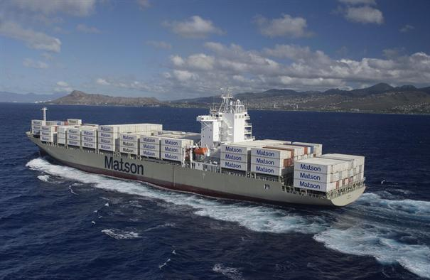 Matson vessel Manukai