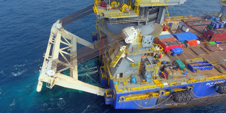 McDermott Completes First of Two Offshore Campaigns for Reliance KG-D6 R Cluster Project