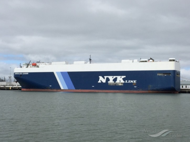 NYK PCTC Rescues Sailors off the Coast of Bermuda