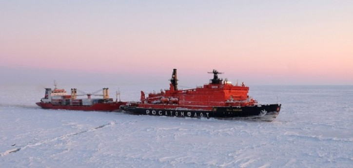 Rosatomflot's icebreakers steered 331 ships of 12.7 mln ton total capacity in 2018