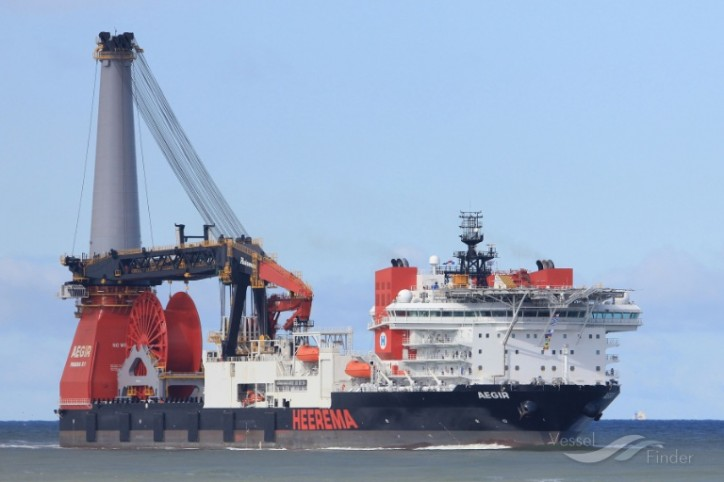 Huisman awaits Heerema's construction vessel Aegir