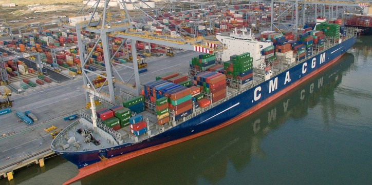 CMA CGM's European-Caribbean Service To Begin Calling At DP World London Gateway Port
