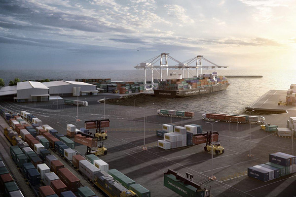New international container terminal for Port of Burnie
