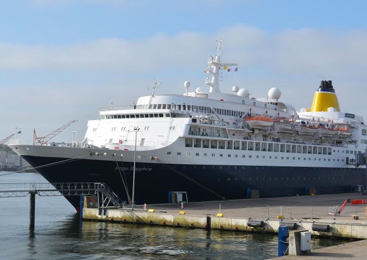 "Kiel welcomes ""Saga Sapphire"" maiden visit"