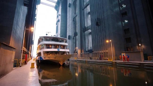 maior Shiplift do mundo inicia operação na China Three Gorges Dam (Vídeo)