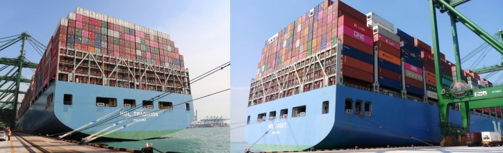 ONE Achieved Container Loading Records in two Consecutive Weeks by MOL TRUST and MOL TRADITION