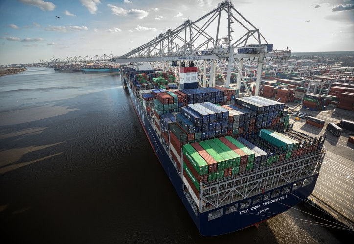 Savannah set to serve six 14,000-TEU vessels simultaneously