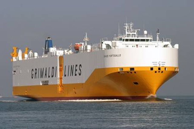 THE GRIMALDI GROUP adds five new car carriers to its fleet