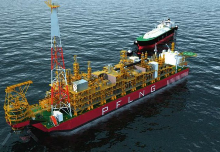 Samsung Heavy Industries Lays Keel for Petronas Floating LNG2