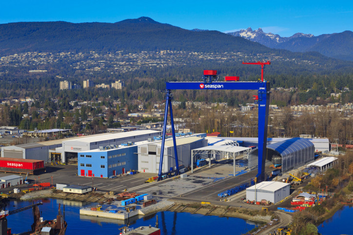 Seaspan Shipyards momentum continues as third Offshore Fisheries Science Vessel for the CCG reaches structural completion