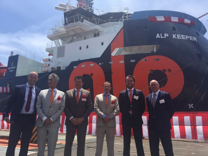 ALP Keeper officially christened