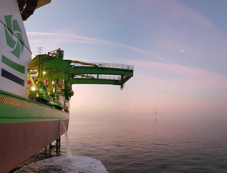 Triton Knoll selects GeoSea for turbine transport and installation, completing a full house of preferred suppliers