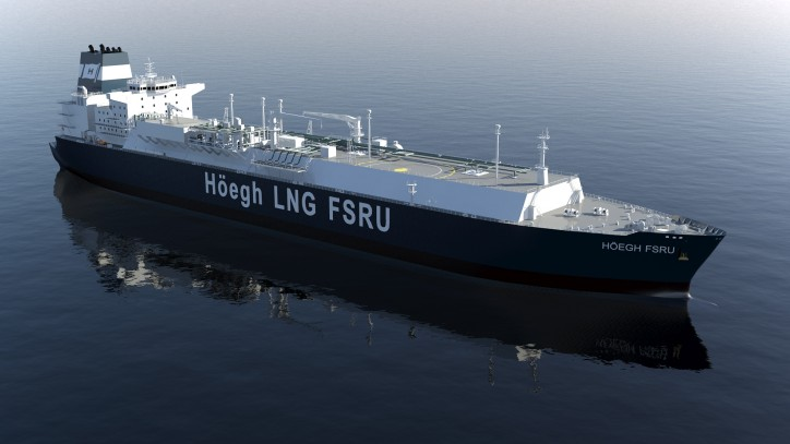 Höegh LNG secures debt financing for FSRU delivery #9