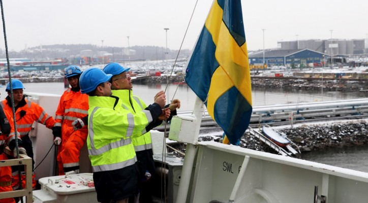 Swedish tanker operator sails five vessels under the Swedish flag