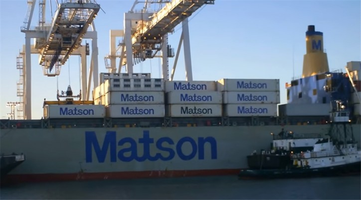 Matson Increases Neighbor Island Barge Capacity