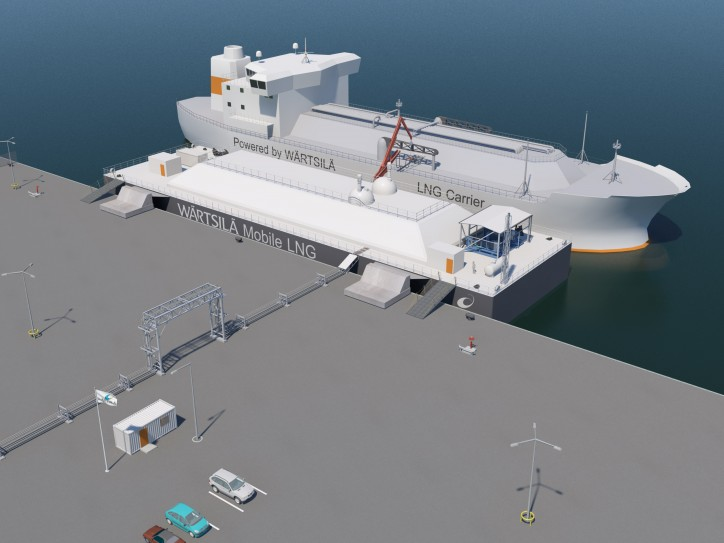 Wartsila Debuts Mobile LNG Power Generation
