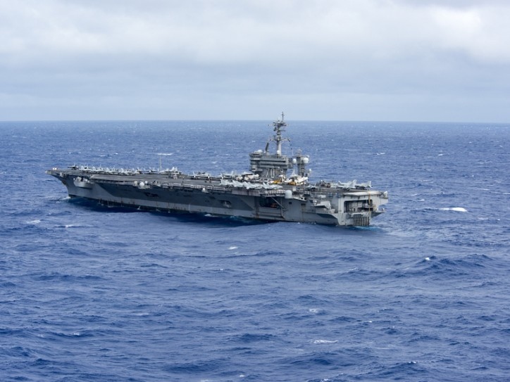 US Navy deploys aircraft carrier for routine patrolling in South China Sea