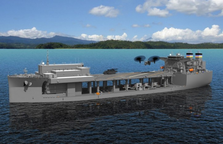 General Dynamics NASSCO Begins Construction on Fifth Ship in Expeditionary Sea Base Program for U.S. Navy