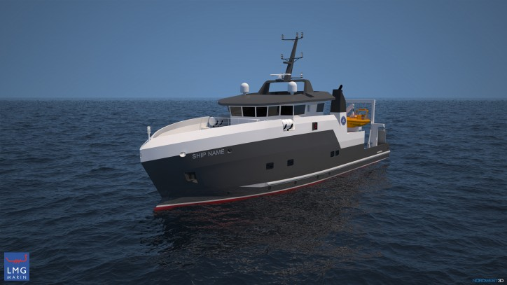 Design contract for the Institute of Marine Research's new coastal research vessel