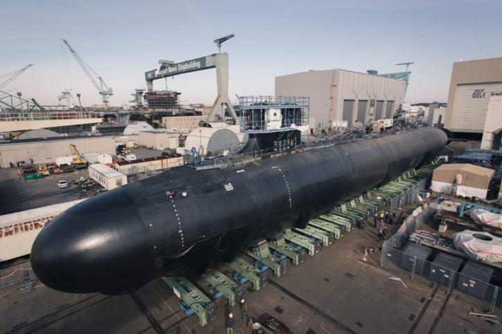 US Navy's Delaware submarine concludes initial sea trials