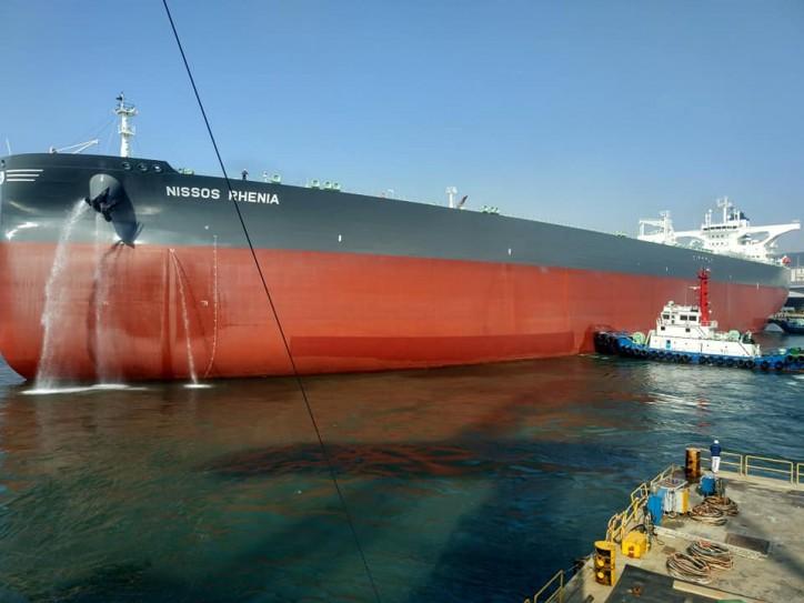 Ocean Yield takes delivery of VLCC Nissos Rhenia