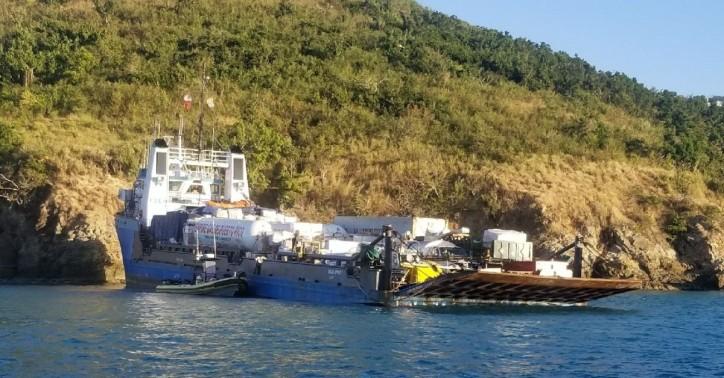 US Coast Guard responds to cargo vessel grounding in St. Thomas, U.S. Virgin Islands