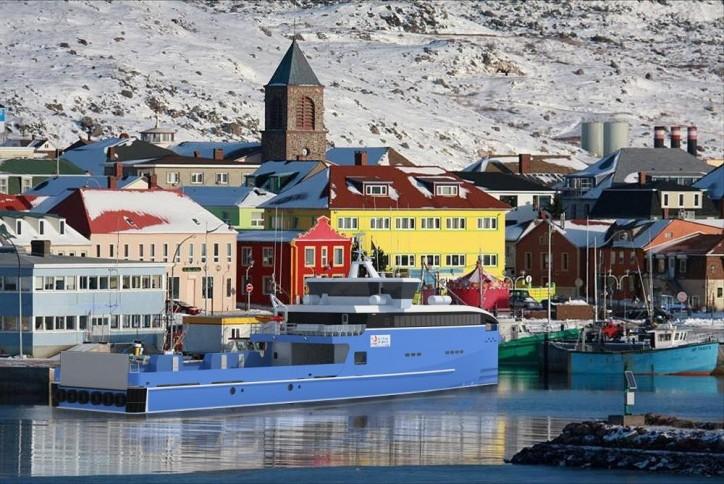 La Collectivité Territoriale de St. Pierre et Miquelon selects Damen for two Fast Ferries