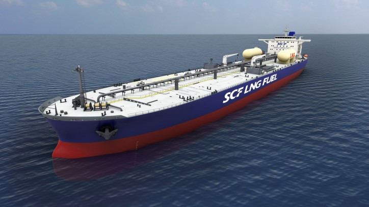 Hyundai Samho Heavy Industries Wins USD 240Mln Order for the World's First LNG-fueled Aframax Tanker