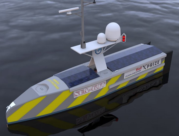 Kongsberg Maritime secures first order for autonomous surface vehicle control system K-MATE