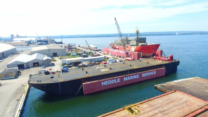 Thordon Bearings and Heddle Marine Team Up to Convert Ships to Pollution Free Propeller Shaft Lines