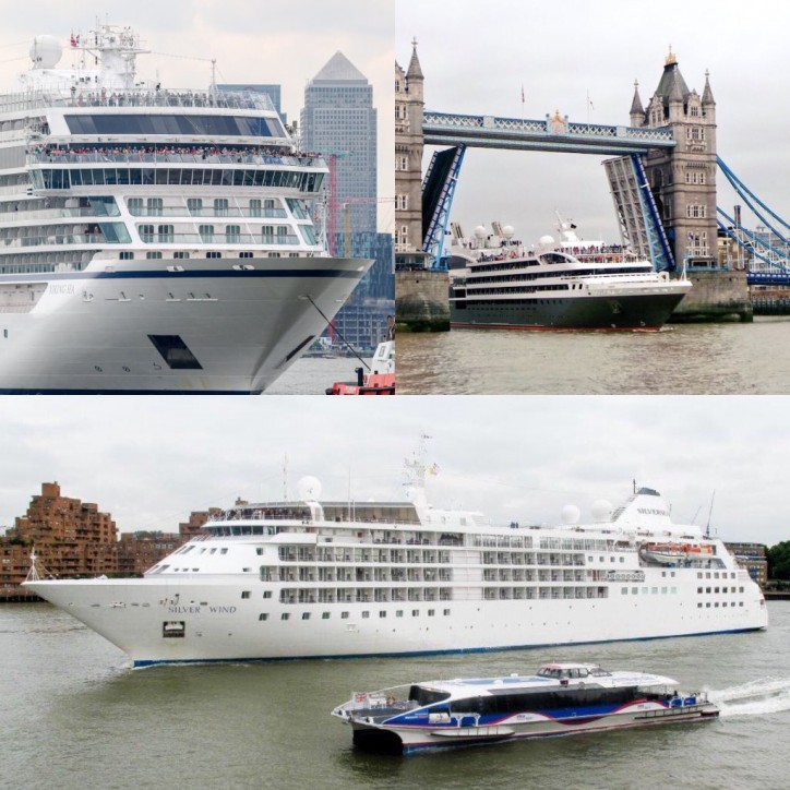 Port of London cruise contract goes to Port of Tilbury and MBNA Thames Clippers