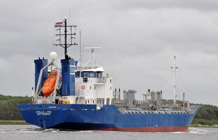 Fire onboard tanker Stella Lyra