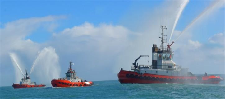 Port Taranaki salutes new $12m tug