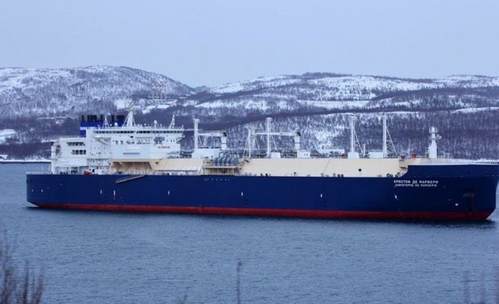 Unique ice-breaking LNG carrier Christophe de Margerie ready to serve Yamal LNG project