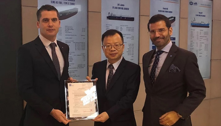 LR awards Jiangnan AiP for 91,000 m3 VLGC Panda 91T design