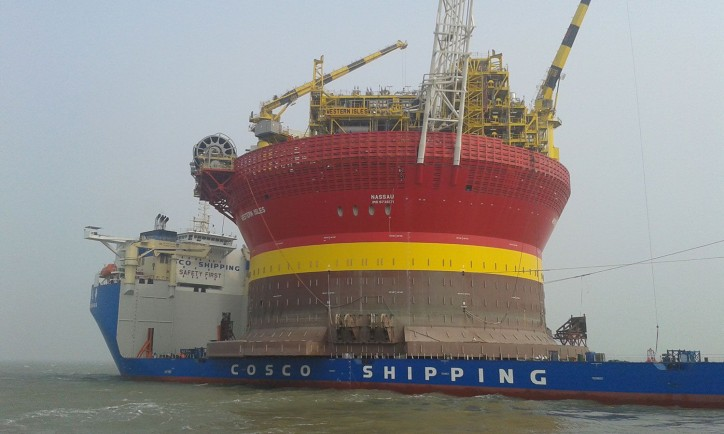 Semi-submersible vessel Xin Guang Hua expected to arrive in Rotterdam next week with unique shipment from China