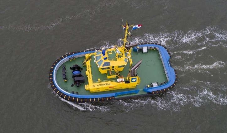 New Damen ASD 2411 tug for Saam Smit Towage in Panama