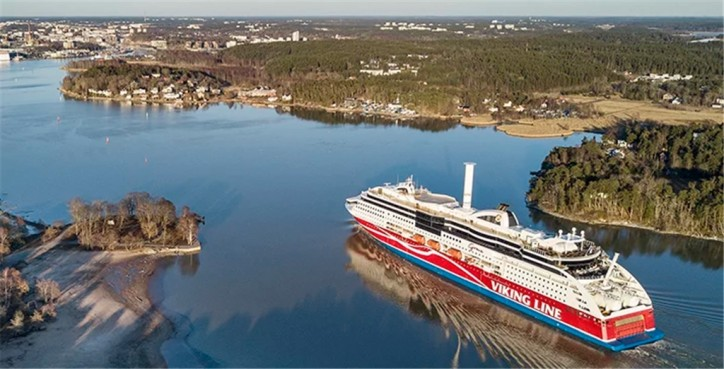 Viking Grace installs rotor sail for wind-assisted propulsion