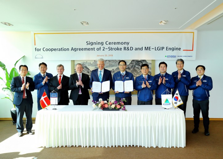 MAN Diesel & Turbo to Cooperate with Hyundai on Development of LPG Dual-Fuel Engine
