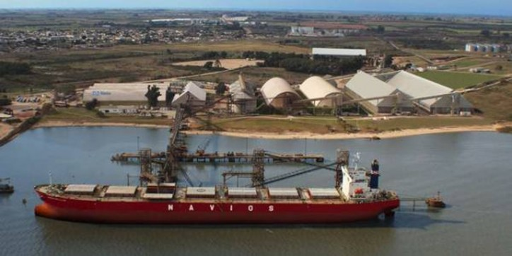 Navios South American Logistics Inaugurates Iron Ore Transshipment and Storage Facility