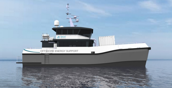 Seacat Services Places Multi-Million-Pound Order For Chartwell 24 Offshore Wind Catamaran