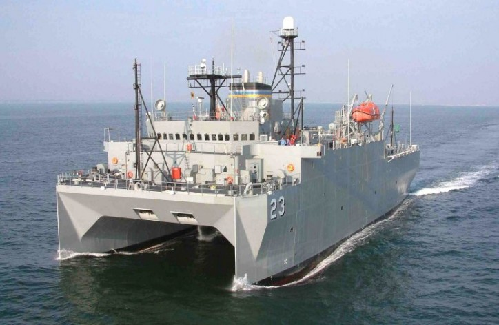 USNS Impeccable rescues 11 Fishermen